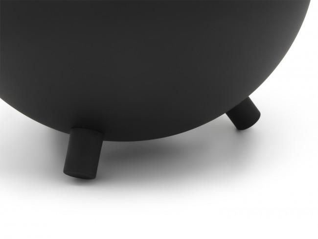 Théière Duet Design Saturn 1,2L noir mat