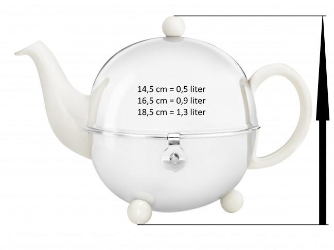 Théière sans globe Cosy 1302W crème