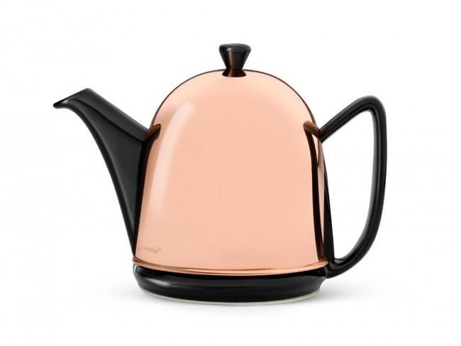 Théière Cosy Manto cuivre/noir, 1,0L