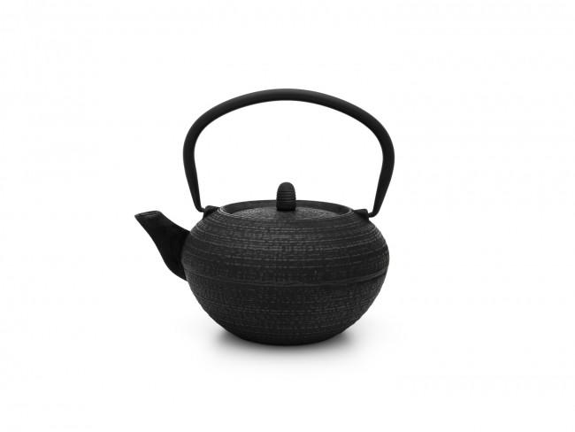Théiere Tibet 1,2L fonte noir