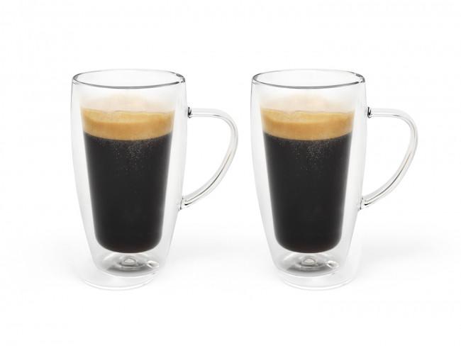 Verre à café/thé double paroi 295ml s/2