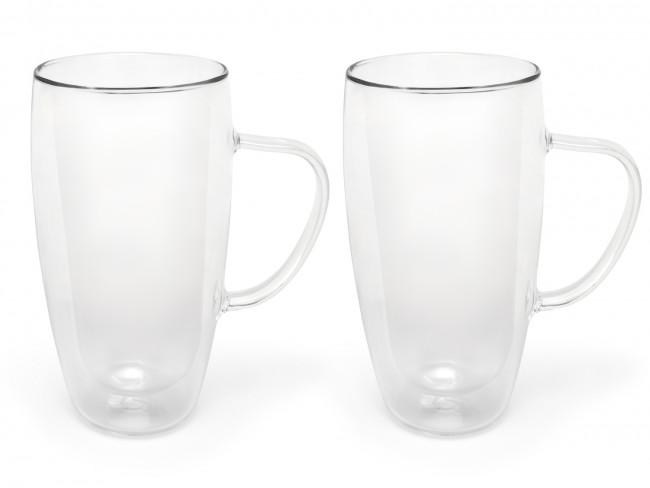 Verre capp./latte doubleparoi 400ml s/2