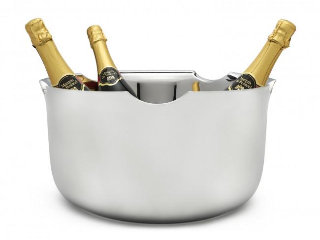 Vasque à Champagne Equip double paroi, acier inox