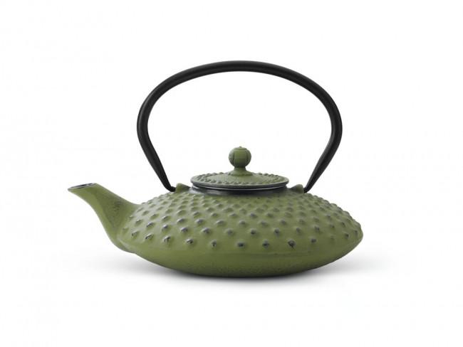 Théiere en Fonte Xilin 0,8L Verte