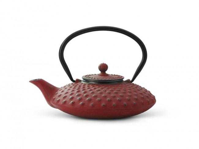 Théiere en Fonte Xilin 0.8L Rouge
