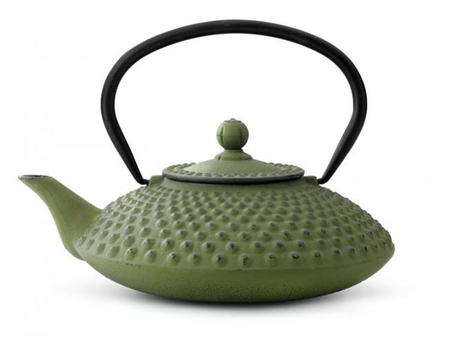 Théiere en Fonte Xilin 1,25L Verte