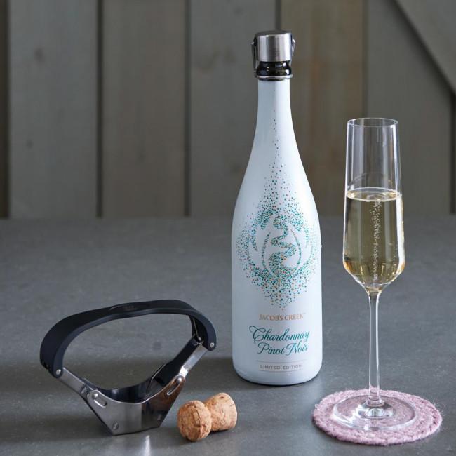Champagne décapsuleur Pressa