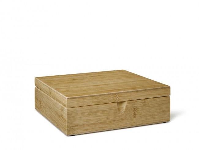 Boîte à thè 6 compartiments bambou