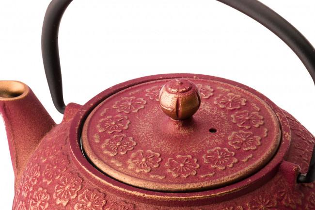 Coffret cadeau Shanghai 0,6L rosa/or