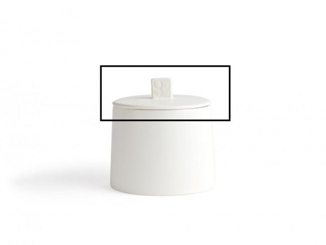 Couvercle de rechange avec anneau silicone pour boîte hermétique Lund LD012W