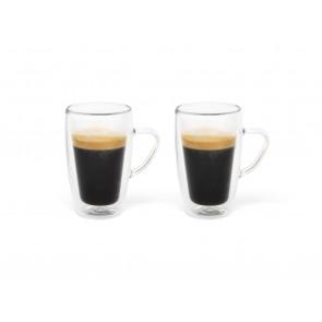 Verre à espresso, double paroi 100ml s/2