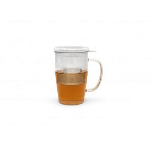 Verre à thé Veneto 530ml +filtre+couvercle