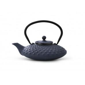 Théiere Xilin fonte 0,8L bleu
