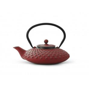 Théiere Xilin fonte 0,8L rouge