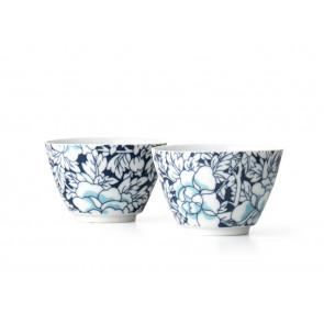 Tasse à thé Yantai, blue fonçé, set de 2