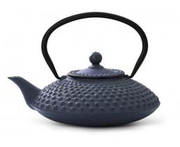 Théiere Xilin fonte 1,25L bleu